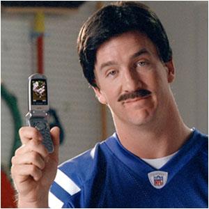 peyton mustache