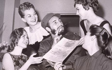 The ultimate Burgahizer:  Fidel Castro