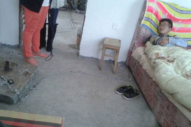 Weird cultural story of the day:  Chinese parents admit chaining their 24-year-old son to his bed for stealing