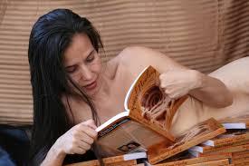 naked studying