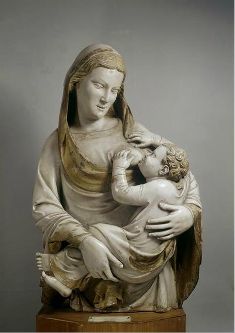 Nino Pisano. Madonna del Latte. 1360.