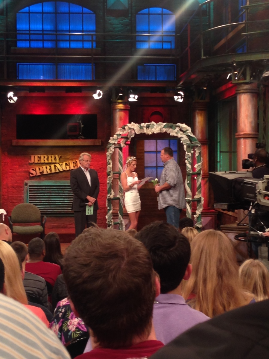 an introduction to the jerry springer show