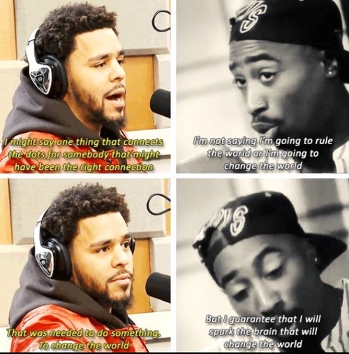 J Cole Song Quotes: Some Monday Afternoon Inspiration From J Cole & Tupac